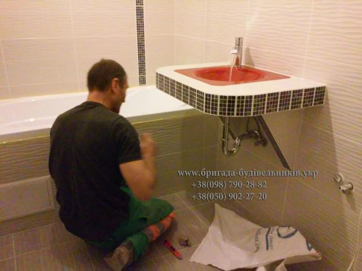 Укладка плитки, laying tiles